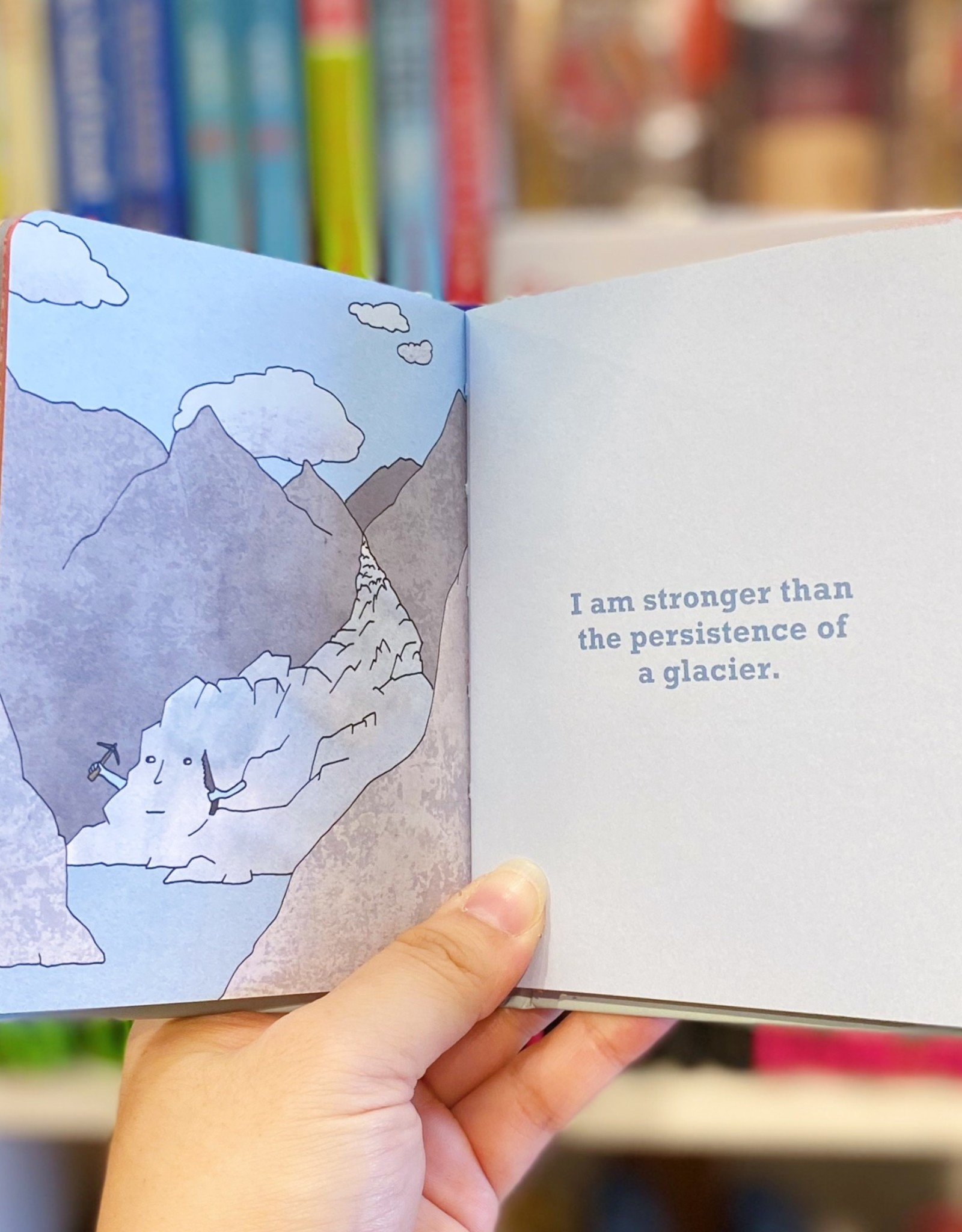 Knock Knock Book:  I Am Stronger Than...