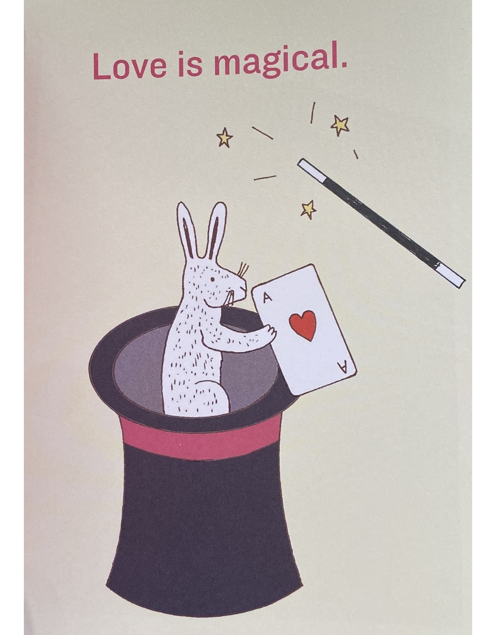 Knock Knock Book:  Love is...