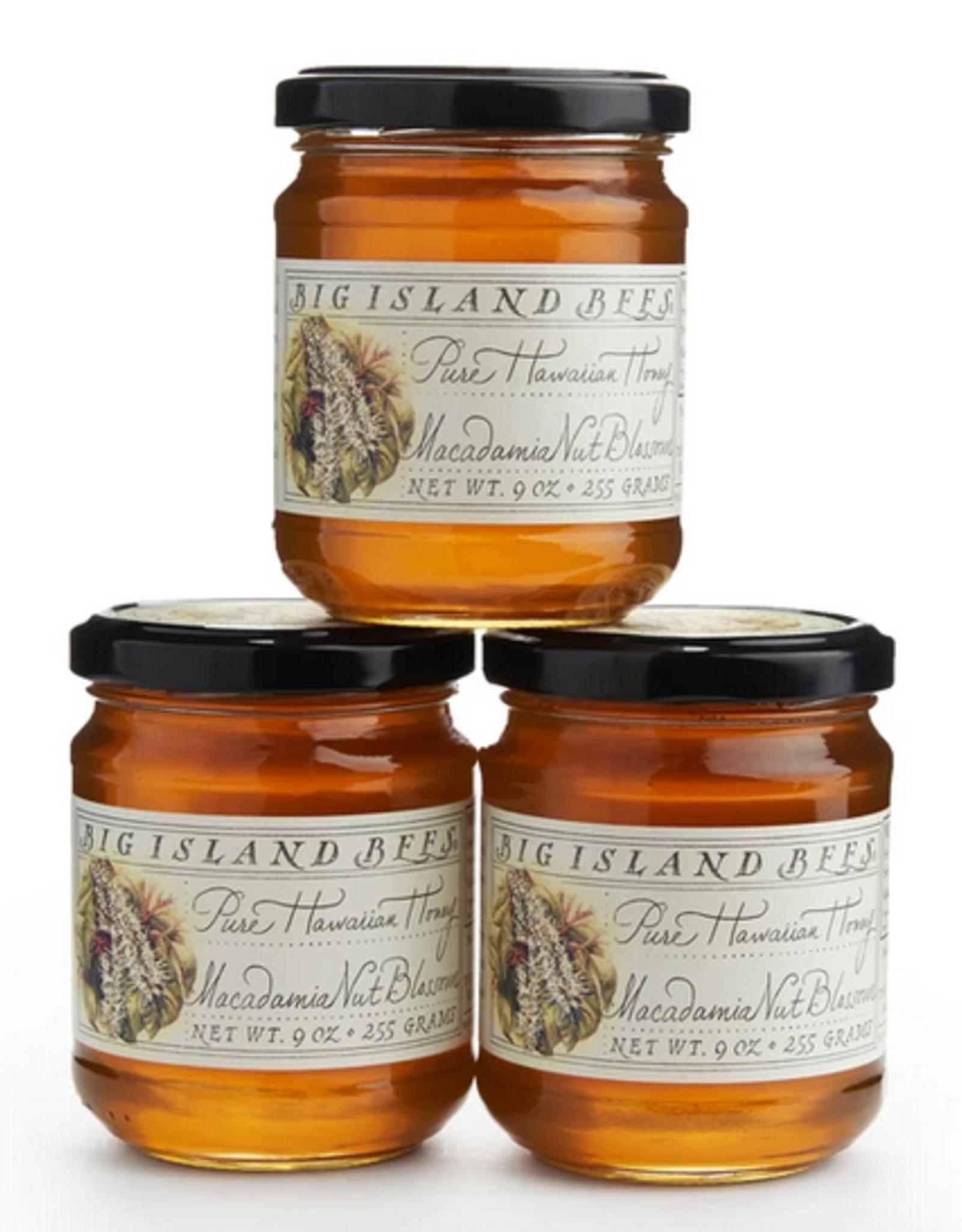 Big Island Bees Illustrated Gift Box 4.5oz Asst. Honey