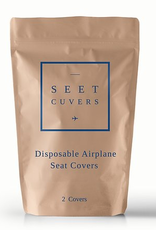 Seet Cuvers Disposable Airplane Seat Covers (2ct)