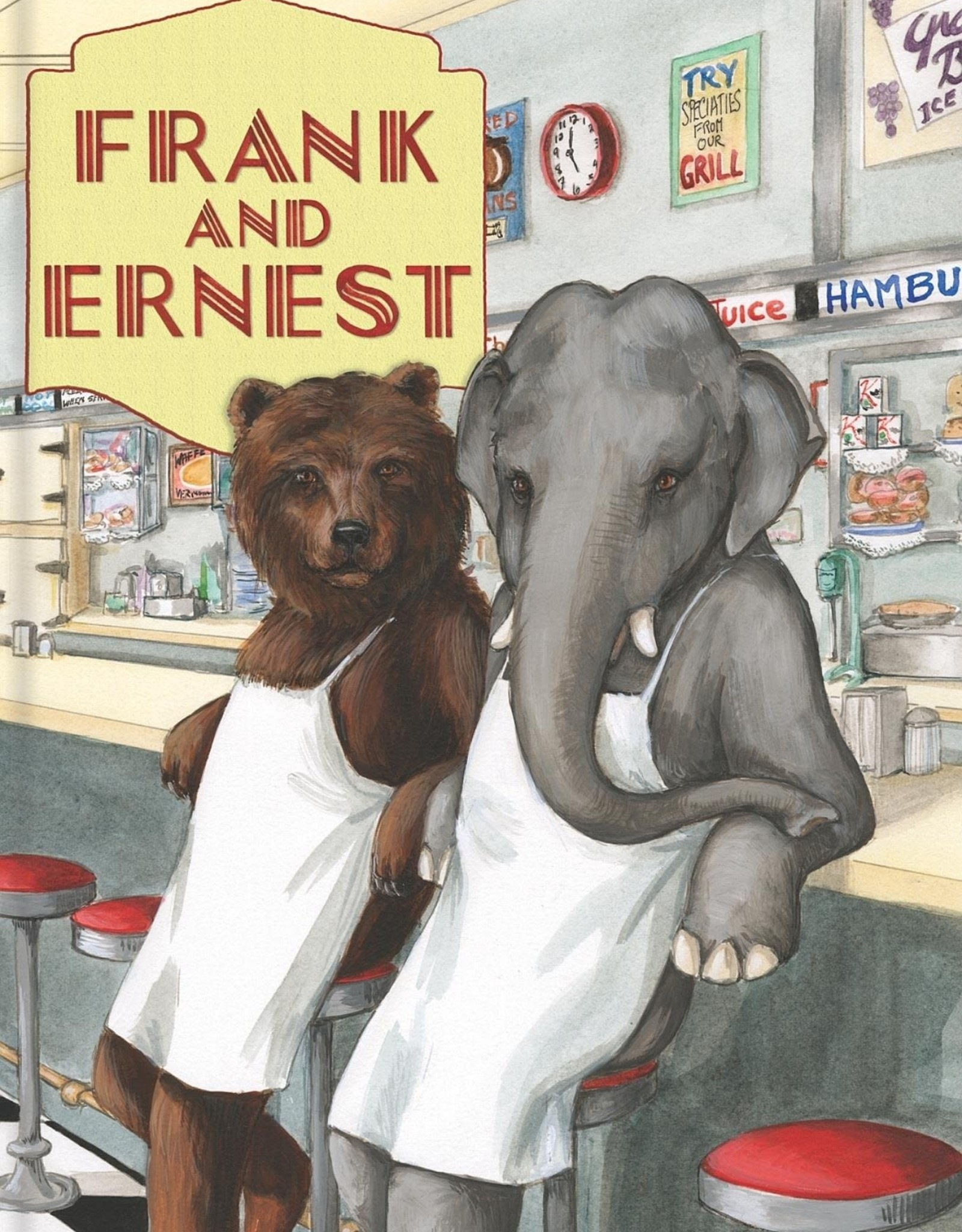 LAUGHING ELEPHANT Book: Frank & Ernest