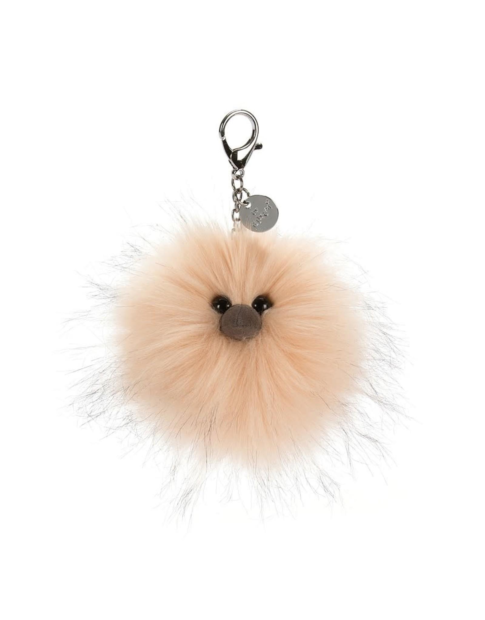 Jellycat Just Peachy Pom Bag Charm