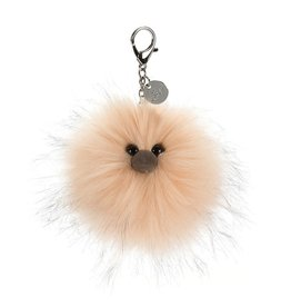 Jellycat Just Peachy Pom Bag Charm