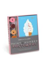 Knock Knock Paint Postcard: Sweets