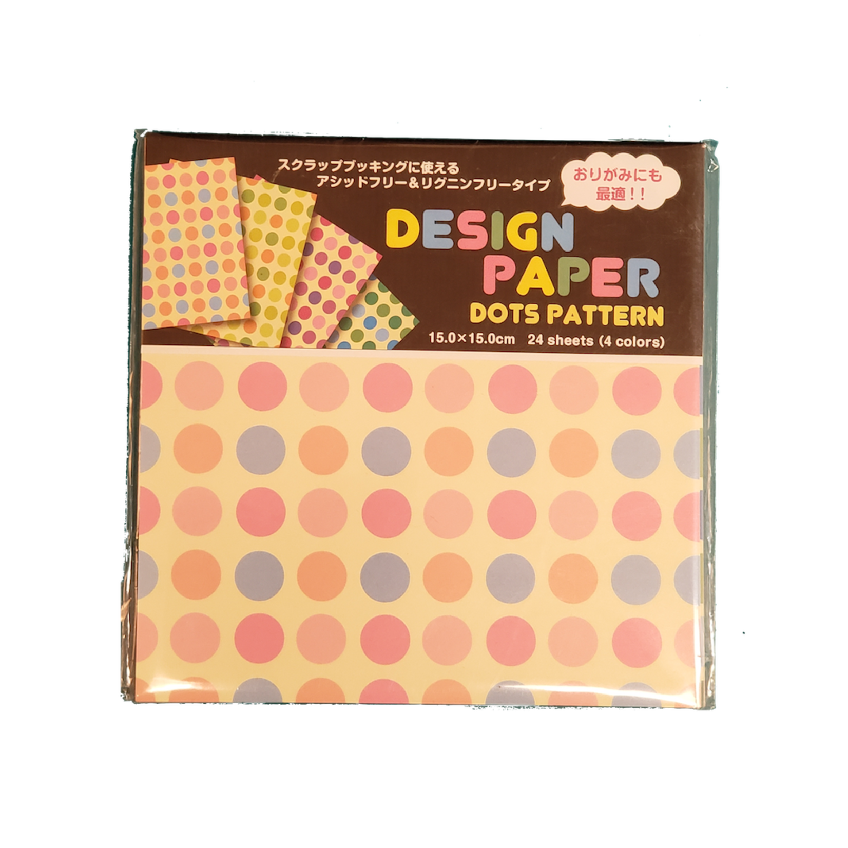 Kotobuki Trading Co. Inc Origami Design Dots 4 Colors (24)