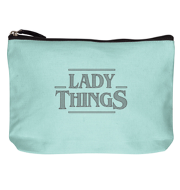 Wit Canvas Makeup Bag Lady Things