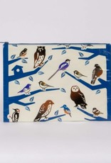 Blue Q Birdland Jumbo Pouch