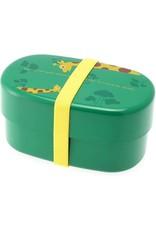 Kotobuki Trading Co. Inc Bento Green/Yellow Giraffe