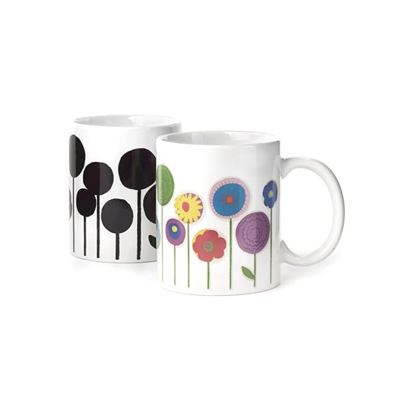 Kikkerland Morph Mug Flowers