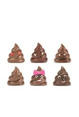 Kikkerland Emoji Poop Magnets
