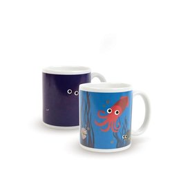 Kikkerland Morph Mug Under the Sea