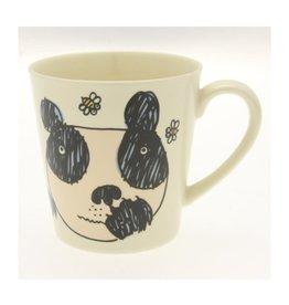 Kotobuki Trading Co. Inc Mug Crazy Panda