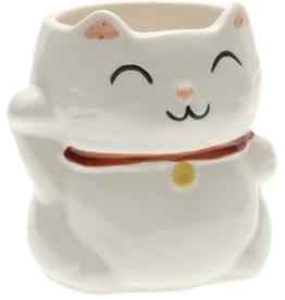 Kotobuki Trading Co. Inc Mug Lucky White Cat