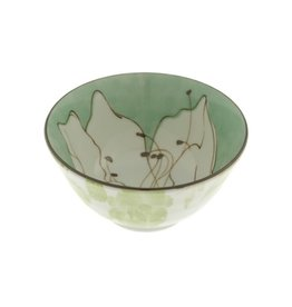 Kotobuki Trading Co. Inc Bowl Green Azalea Sketch