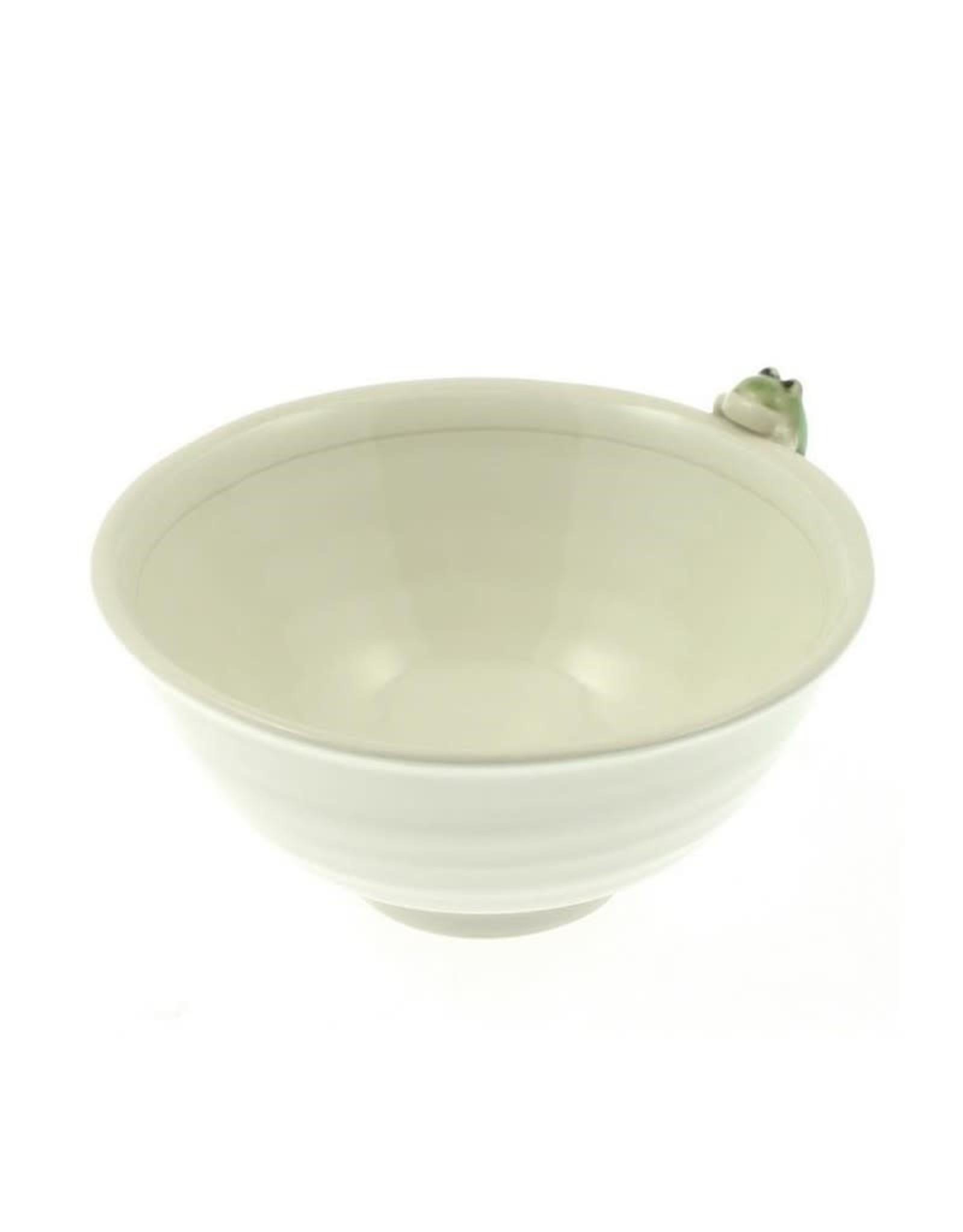 Kotobuki Trading Co. Inc Rice Bowl Frog/Dragonfly