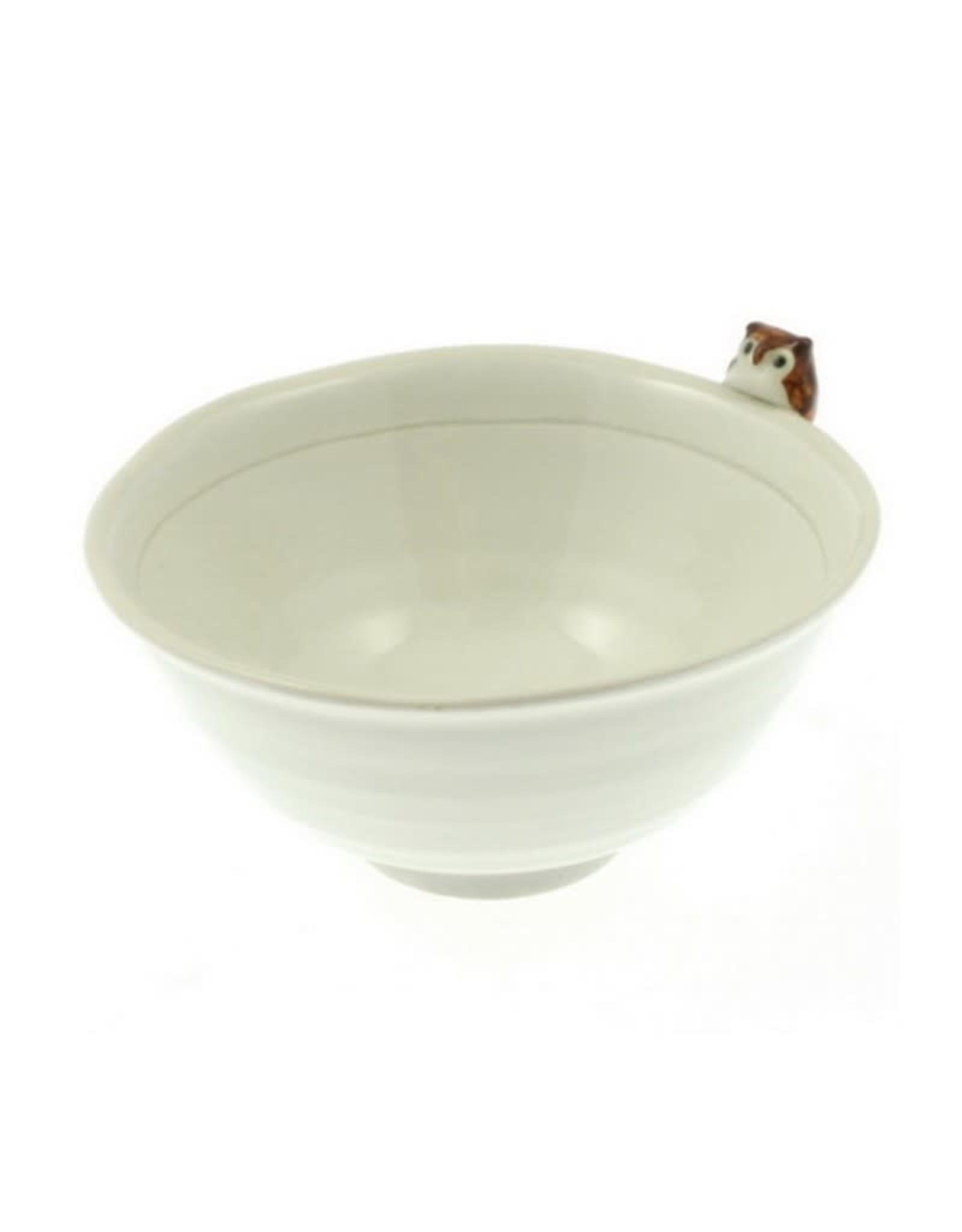 Kotobuki Trading Co. Inc Rice Bowl Owl/Moon