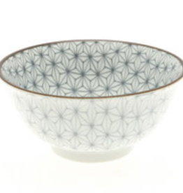 Kotobuki Trading Co. Inc Bowl Granite Hemp Leaf 6""