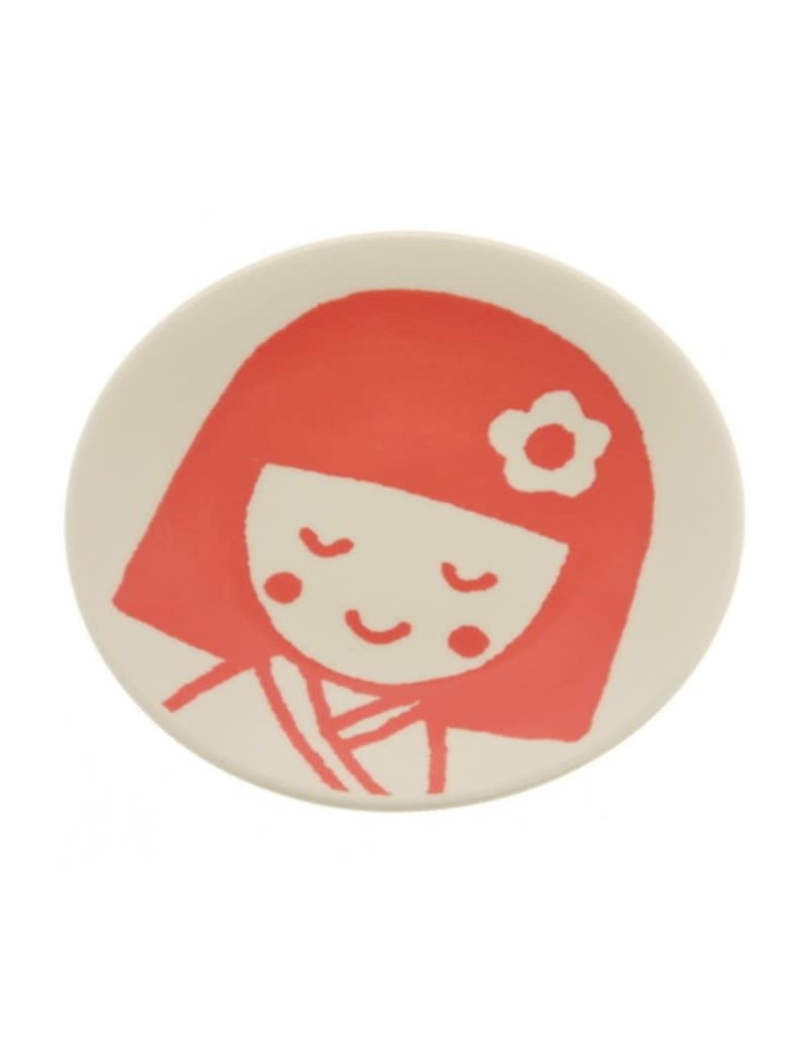 Kotobuki Trading Co. Inc Plt Red Kokeshi Girl