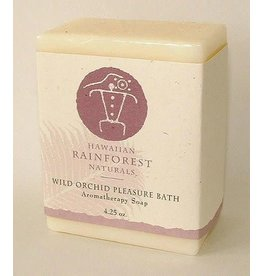 Hawaiian Rainforest Naturals Inc. Wild Orchid Pleasure Bath Aromatherapy Soap