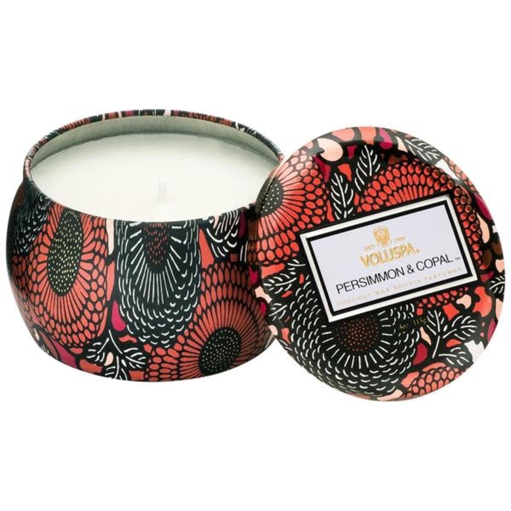 Voluspa Mini Decorative Tin Candle