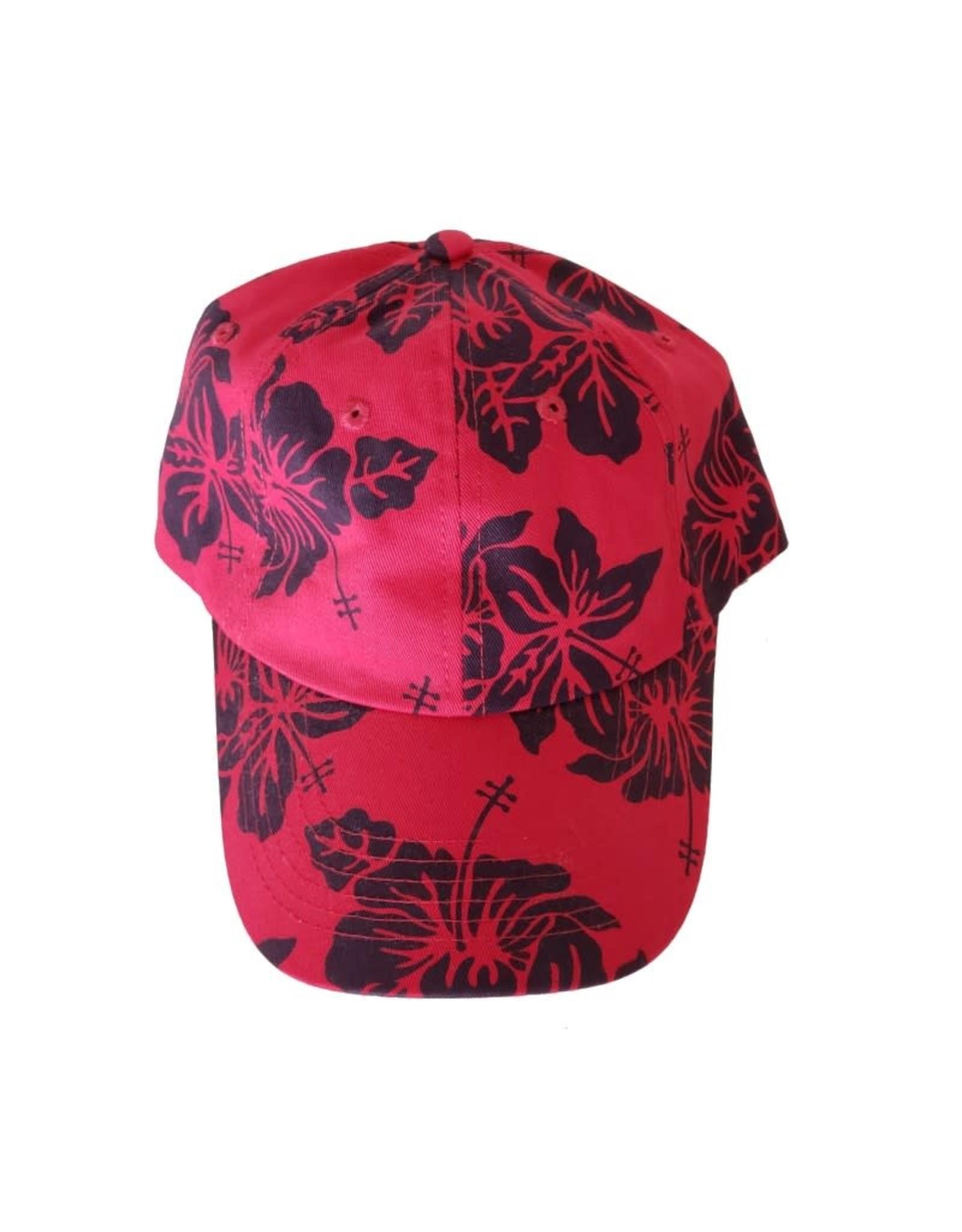 Dorfman Pacific Tropical Print Baseball Cap