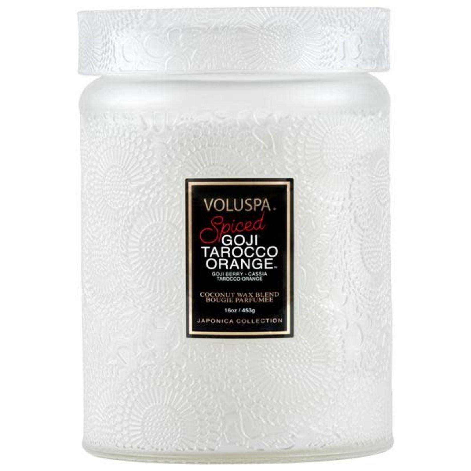 Voluspa Large Glass Jar Candle