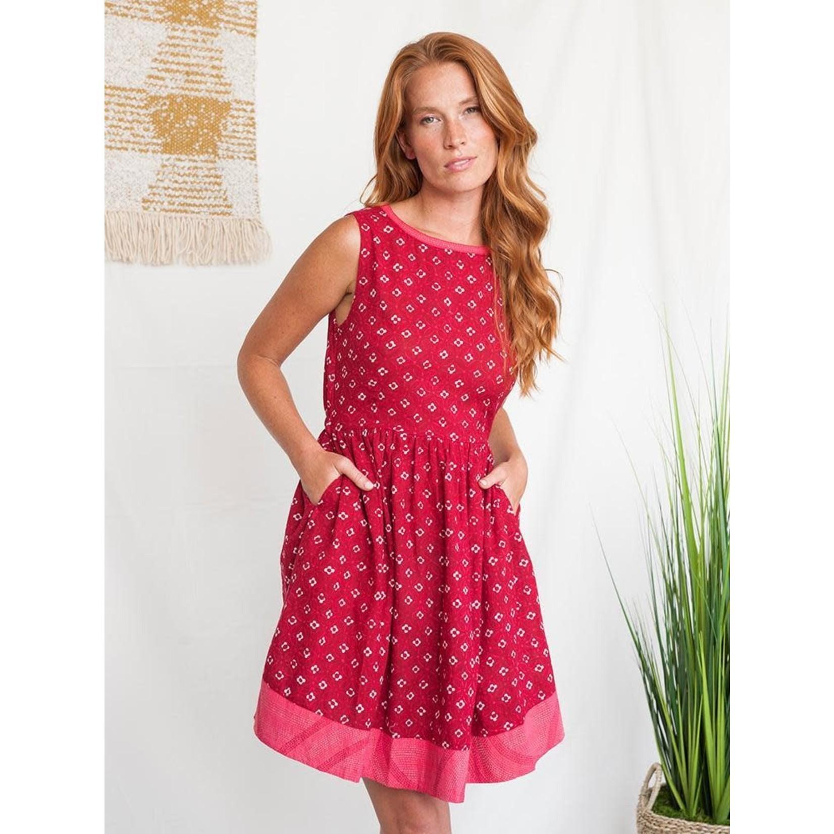 Mata Traders Tic Tac Toe Dress