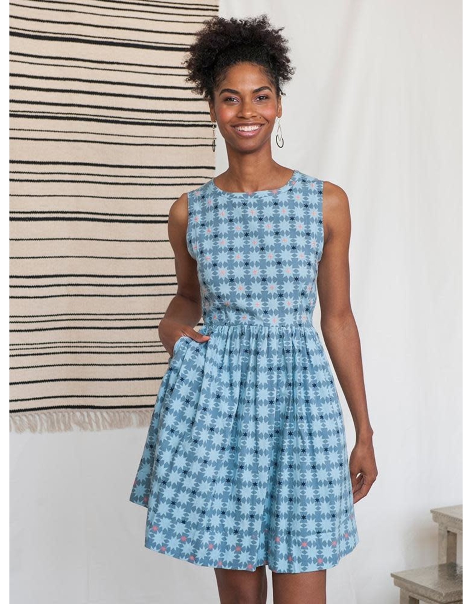 Mata Traders Tic Tac Toe Dress