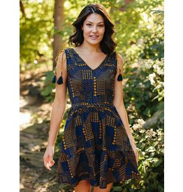 Mata Traders Tassel Tie Dress