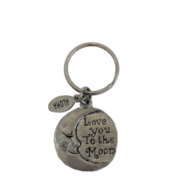 Basic Spirit Love To Moon Contribution Keychain