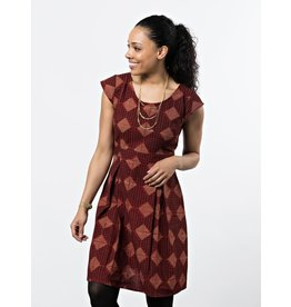 Mata Traders Vintage Pleat Dress
