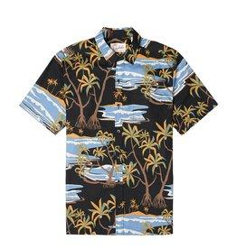 Kahala Kahala Aloha Shirt Hala Spring Charcoal