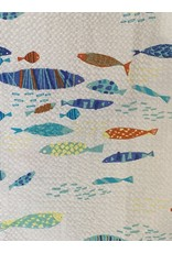 LOFT604 Inc. LOFT604 Shirt Fish Pattern Seersucker