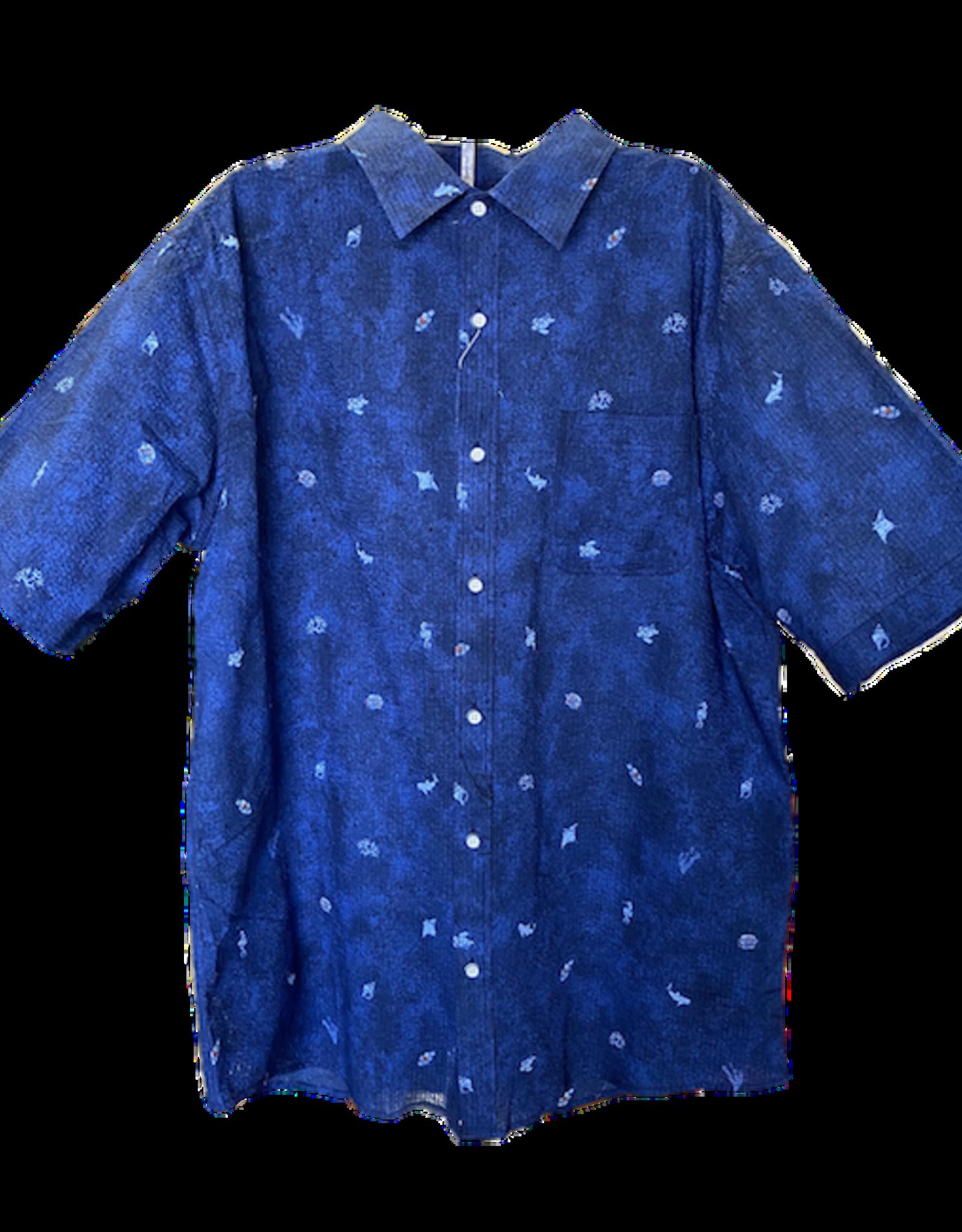 LOFT604 Shirt Dragonfly Seersucker
