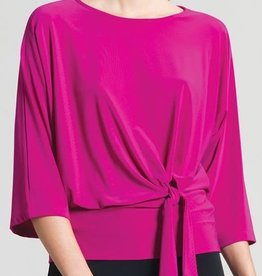 Side Tie Detailed Soft Knit Top