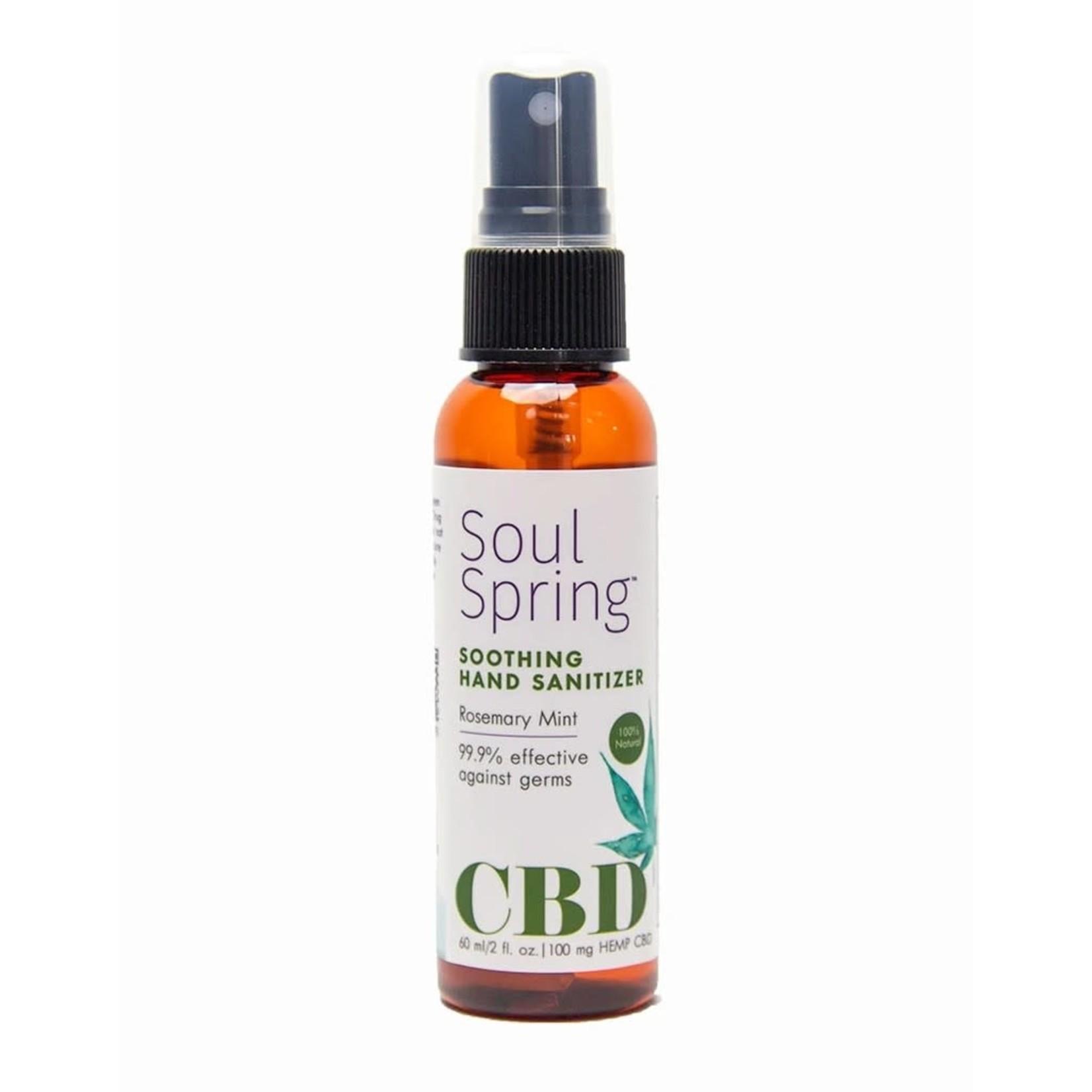Soul Spring Soul Spring Soothing Hand Sanitizer 2 oz.