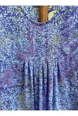 Tropical Earth Tones JC-LPLS Long Dress w/ Slv