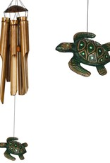 Woodstock Percussion, Inc Half Coconut Bamboo Chime Medium Sea Turtle