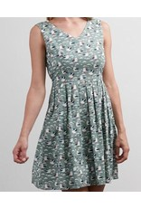 SM Wardrobe Seagull Print Dress