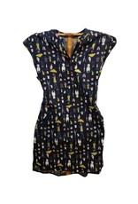 SM Wardrobe Dog/Owl/Umbrella Print Dress