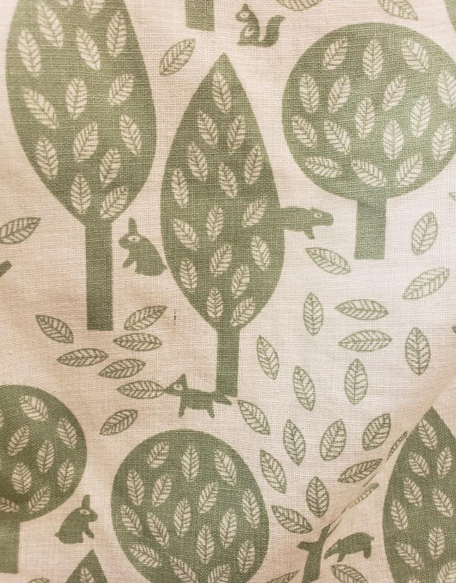 Tree/Squirrel Print Dress