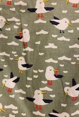 Seagull Print Dress