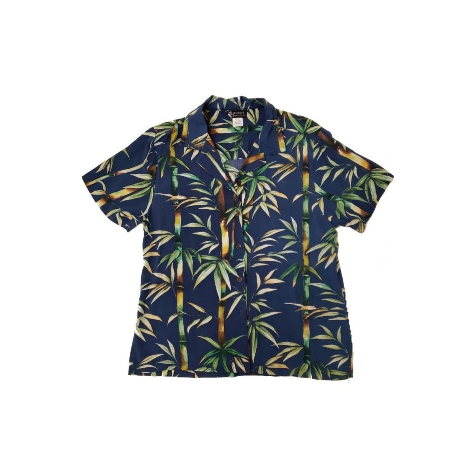 Robert J. Clancey Bamboo Blue Women's Camp Shirt
