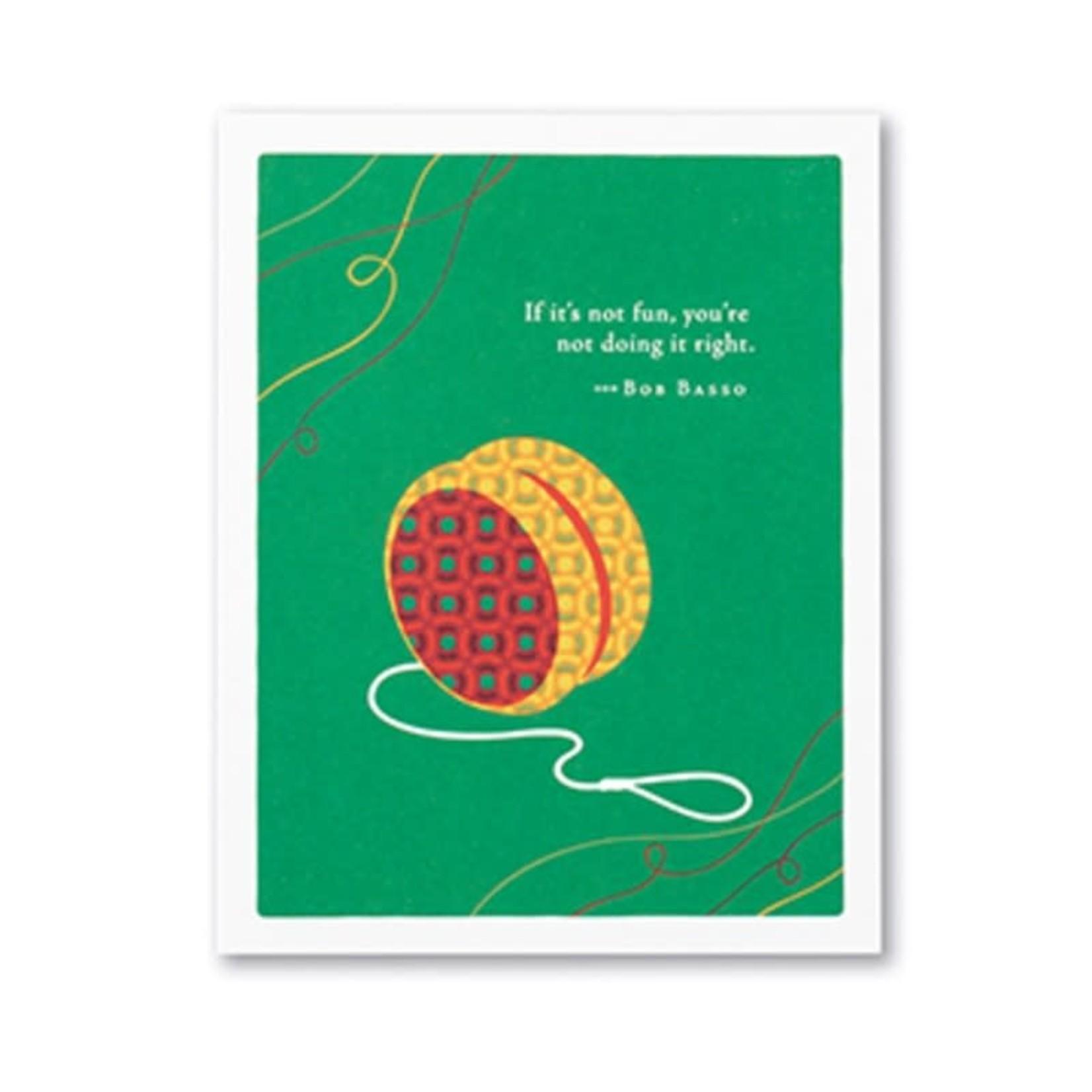 Positively Green PG Card Happy Birthday