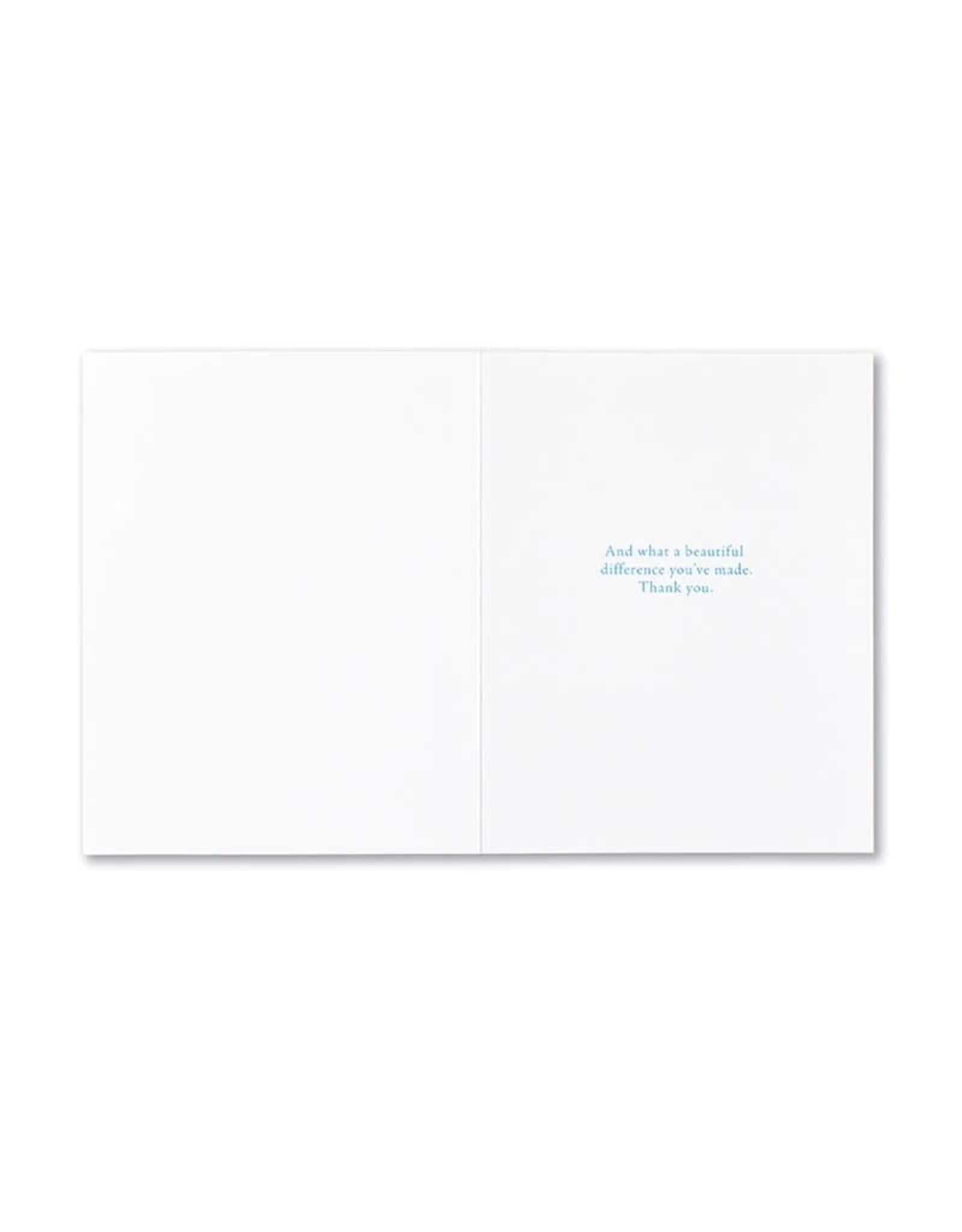 Positively Green PG Card Appreciation