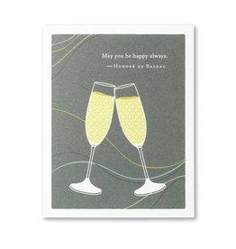 Positively Green PG Card Wedding