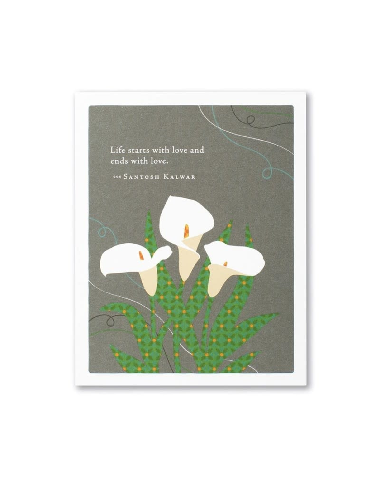 Positively Green PG Card Sympathy