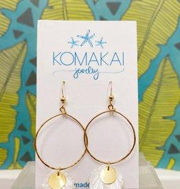 Komakai Jewelry MOP Shell Earrings