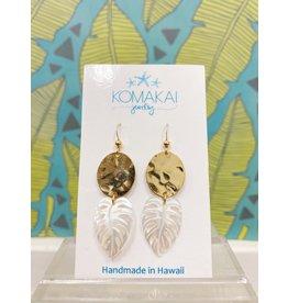Komakai Jewelry Kalo Brass Earrings
