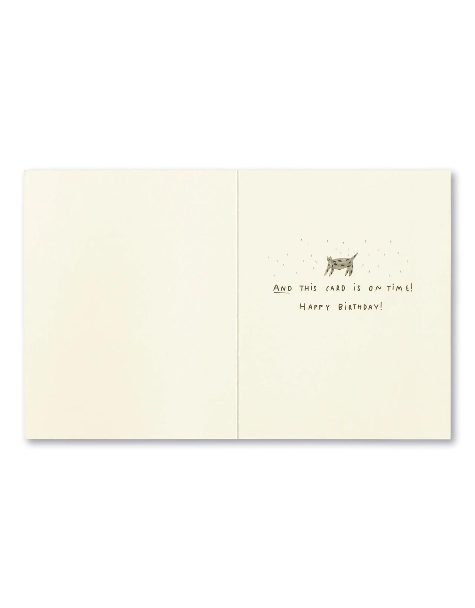 Compendium LM Card Belated Birthday